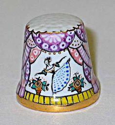 Thimbles of artist Svetlana Pochechueva  Porcelain