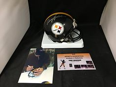 Terry Bradshaw Signed Autographed Pittsburgh Steelers Mini Helmet GTSM Bradshaw Hologram and COA Card ** Details can be found by clicking on the image.