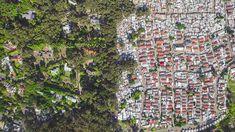Huge Divide Between Rich And Poor, Captured By Drones | facebook