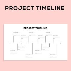 Project Management Scheduling Milestone Timeline Charts and Project Planner Spreadsheet template, fo Project Planner Template, Project Management Templates, Bullet Journal Project Planning, Project Timeline Template, Microsoft Excel, Microsoft Project, Goal Planning, Business Planning, Strategic Planning