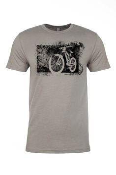 It's what you feel when you start down the bike trail and leave the world's troubles behind, relief. It's also the corner stone of this tee, showcasing a relief print of one of our favorite downhill b