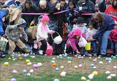 Easter egg hunt cancelled because of overzealous parents.