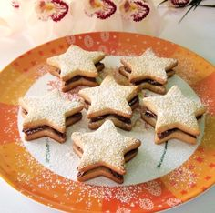 Párizsi csillag Gingerbread Cookies, Advent, Food, Gingerbread Cupcakes, Essen, Meals, Yemek, Eten