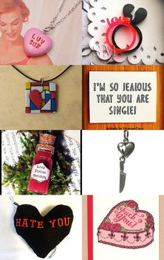 Anti Valentine's Day! by Casey Horan - Click on the image to see all the items!