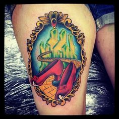 wizard of oz tattoo   Tattoos