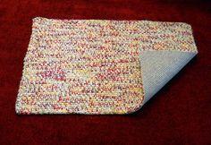 Crocheted Rug no slip backing for kitchen bath by CustomBearHugs, $50.00  #crochetedrug