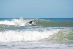 Long Board Surfing
