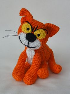 Azrael die Katze Amigurumi Häkeln Muster von IlDikko auf Etsy, $5.20, crochet pattern cat, smurf, Schlumpf