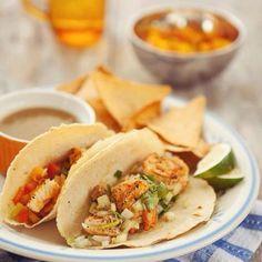 Órale! Taqueria Mexicana's Taco de Pescado and Taco de Camarones