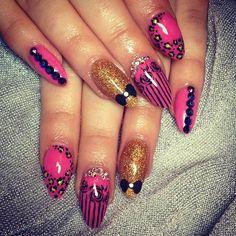 Instagram photo by tidynailswaterford  #nail #nails #nailart