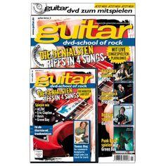 guitar Songbook mit DVD Vol. 3: School of Rock, 9,90 €