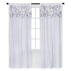 Threshold™ Vine Applique Curtain Panel