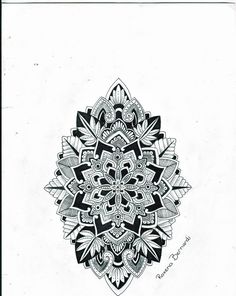Mandala shield of life tattoo design by roxyloxy on deviantART