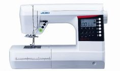 Juki HZL G110 priced at AED:1889 THIS IS A  COMPUTERIZED SEWING MACHINE. WITH 180 STITCH PATTERNS AND LOTS OF FUN FEATURES, THE G-110 IS SURE TO INSPIRE BOTH BEGINNER AND EXPERIENCED SEWERS. EASY PATTERN SELECTION - SELECTING THE RIGHT PATTERN IS EASY ON THE G-110.SELECT THE MENU, USE THE ARROW KEYS TO SELECT THE PATTERN NUMBER AND YOUR OFF AND SEWING IN NOTHING FLAT! THE LED SCREEN DISPLAYS THE STITCH SETTINGS, PATTERN AND EVEN RECOMMENDS THE BEST PRESSER FOOT TO USE.