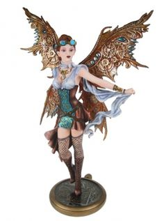 Jess - Steampunk, Fairies, Figurines, Nemesis Now