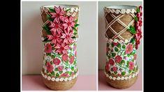Pillar Candles, Quilling, Decoupage, Vase, Bedspreads, Vases, Quilting, Candles, Paper Quilling