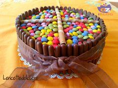 Torta+smarties+ricetta