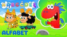nauka literek dla dzieci ze Smokiem Edziem - ALFABET - bajka edukacyjna ...