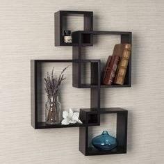 Intersecting Cubes Shelf