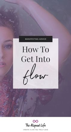 You deserve to live life in flow! Find out what the flow state is, how it relates to the Law of Attraction and manifesting + get helpful tips on how to achieve it