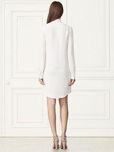 Sheryl Silk Shirtdress - Collection Apparel Short Dresses - RalphLauren.com