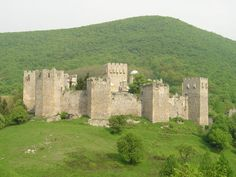 Fortress around Manasija, Serbia