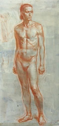 Russian Academic Figure Drawing Workshop  - The Florence Academy of Art is proud to offer for the first time at its location in Florence, Italy, a workshop in Russian figure drawing.   - The Russian Academic Figure Drawing Intensive, taught by artist, Iliya Mirochnik, March 23 - 27, 2015.   - For information about The Florence Academy of Art,  please visit www.florenceacademyofart.com  - Artist, Iliya Mirochnik Figure drawing in sanguine