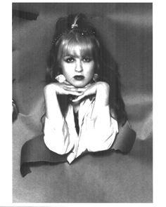 Cyndi Lauper blue angel