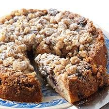 Gluten-Free Blueberry Coffeecake : King Arthur Flour