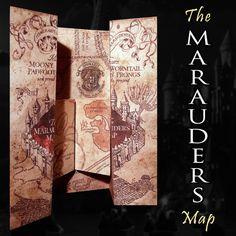 Harry Potter Marauders carte de Poudlard Château par WizardingWares