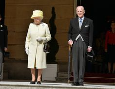 The Queen with Prince Philip at the first Garden Party of the season May 12, 2015
