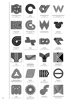 Logo Modernism, a new Taschen book out next month by German graphic designer Jens Müller, is a brilliant catalog of trademarks from Corporate Logo Design, Branding Design, Corporate Branding, Logo Branding, Brand Identity, Www Logo, Kreis Logo Design, Inspiration Logo Design, Logo Luxury