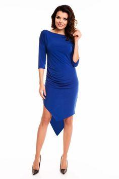Cornflower Blue Awama Dresses