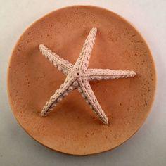 Polymer Clay Starfish Incense Holder by ARToverWAR on Etsy, $39.00