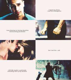 Insurgent,Tris and Tobias