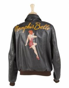 MEMPHIS BELLE LEATHER JACKET - Price Estimate: $500 - $600