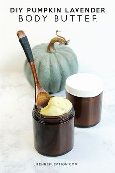 Moisturizing Pumpkin Lavender Body Butter Recipe