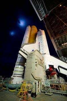 Last flight of Atlantis and the Space Shuttle program.