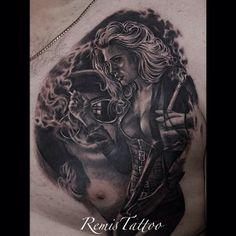 Tattoo by Remigijus Cizauskas at Remis Tattoo Body Modifications, In The Flesh, Best Artist, Tattoo Models, I Tattoo, Body Art, Ink, Instagram, Wicked