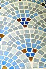 Mosaic floor close-up Mosaic Tile Art, Mosaic Crafts, Mosaic Glass, Mosaics, Stained Glass Patterns, Mosaic Patterns, Social Studies, Stencils, Bathrooms