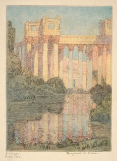 Art Palace, Reflections (Panama-Pacific International Exposition)