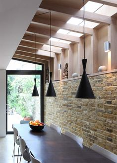 Kitchen extension - Book Tower House by Platform 5 Architects Victorian Terrace, Victorian Homes, Glass Extension, Side Extension, Extension Google, Extension Ideas, Brick Extension, Plafond Design, London Townhouse