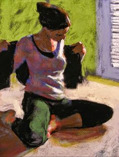 Painting and Collage Workshops - 3 and 5 Day Classes Iris Painting, Figure Painting, Painting & Drawing, Oil Pastel Drawings, Pastel Paintings, Modern Paintings, Pastel Portraits, Amazing Paintings, Impressionist Art