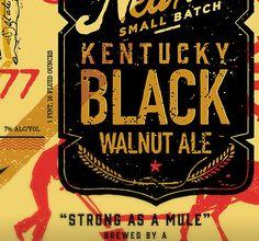 Neltner Small Batch Kentucky Black Walnut Ale Packaging