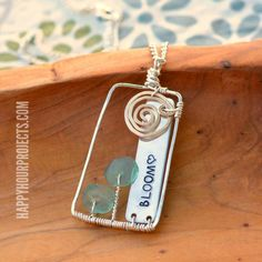 metal stamp jewelry ideas - Google Search