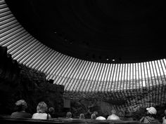 Black Noir #4 Helsinki calling, the beautiful Temppeliaukio church of rock and glass, stimulating both mind and eye.
