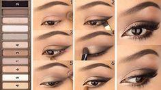 Смотрите новые уроки макияжа по шагам ...