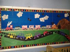 Transportation bulletin board