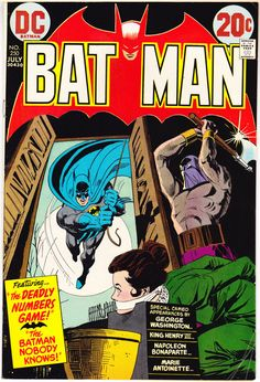 Batman 250 and Robin comic book Bronze Age Vintage 1973 DC Comics in FN/VF
