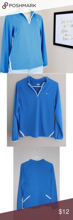 Nike Zipper Pullover Nike Zipper Pullover size small, in great conditions as seen in pictures above, measurements laying flat arm pit to arm pit 18' length shoulder to hem 25' ⭐️Bundle&Save⭐️ Nike Sweaters
